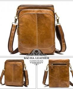 Túi đeo chéo màu da bò MARRANT - BHM8003