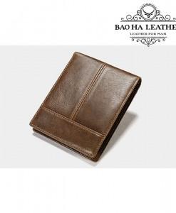 Ví da bò đơn giản - BHM8064N