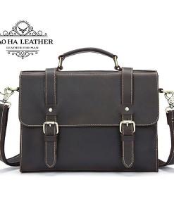 Túi xách da ngựa điên Marrant - BHM9027 (6)
