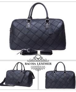 Túi trống du lịch -BHM8885D màu đen