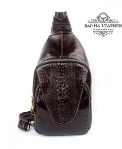 Túi đeo ngực nam da bò - BHM8082N