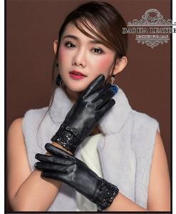 Găng tay nữ da cừu - BH6533