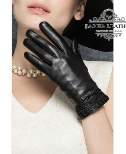 Găng tay nữ da cừu - BHY8700