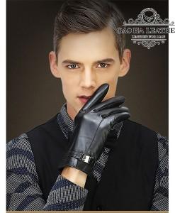 Găng tay da cừu lót lông cao cấp - BH6210