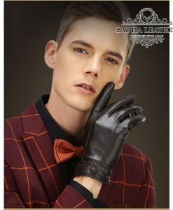 Găng tay da dê nam - BH6613