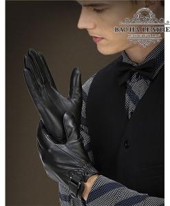 Găng tay da dê nam cao cấp - BH6609D