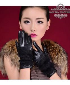 Găng tay da nữ cảm ứng - BH6333