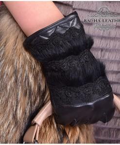 Mu găng tay nữ tính