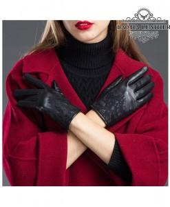 Găng tay da nữ cảm ứng - BHY8758