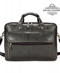 Túi xách laptop da bò - BHM8897X