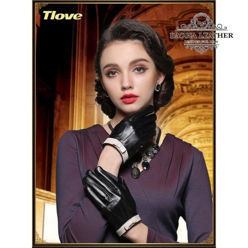 Găng tay viền nơ nữ tính - BH6495