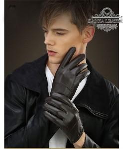 Bao tay da cừu cao cấp - BH6610 màu Nâu trẻ trung