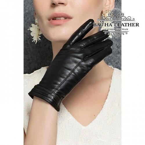 Găng tay cảm ứng nữ đơn giản - BHY2510 Đơn giản mã vẫn nữ tính