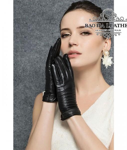 Găng tay cảm ứng nữ đơn giản - BHY2510 Ôm và rất thật tay
