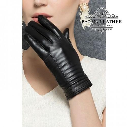 Găng tay cảm ứng nữ đơn giản - BHY2510