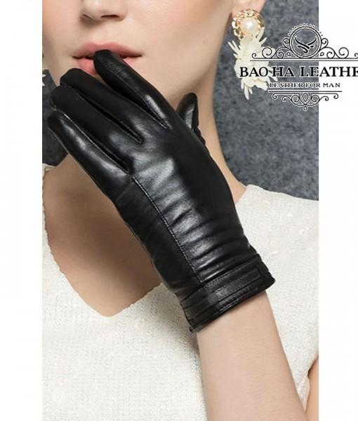 Găng tay cảm ứng nữ đơn giản - BHY2510 (4)