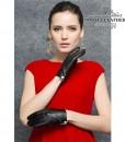 Găng tay nữ da cừu cúc trắng - BHY9748 với size M/L để bạn chọn
