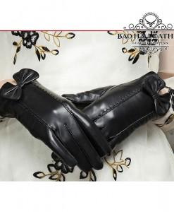 Găng tay nữ da cừu nữ tính - BHY6735