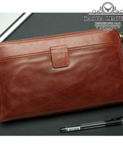Clutch cầm tay - BHM9041N Màu Nâu đỏ mới