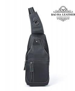 Túi đeo ngực da bò nam - BHM1215D