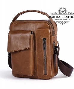 Túi đeo chéo nam da thật nhỏ gọn - BHM8211N