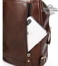 Ngăn khóa kéo phía sau túi