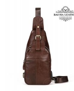 Túi ngực nam da bò - BHM8202N