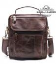Túi chéo quai xách da bò - BHM8870C màu nâu cà phê