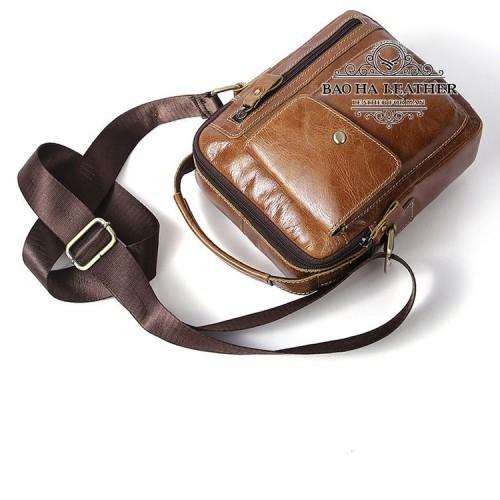 Túi da đeo vai dáng hộp - BHM8314 (3)