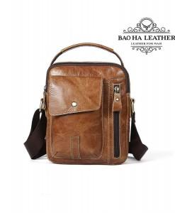 Túi da đeo vai dáng hộp - BHM8314