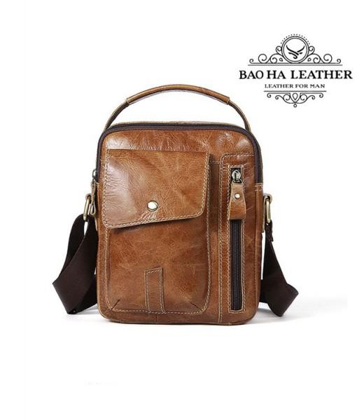 Túi da đeo vai dáng hộp - BHM8314 (6)