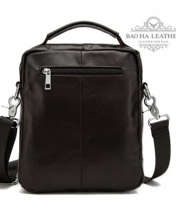 Túi da đeo chéo dạng hộp BHM8806 - Mặt sau
