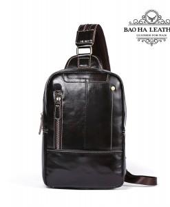 Túi da đeo trước ngực nam BHM8210 (4)