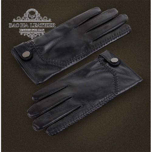 Găng tay da thật cao cấp BH6266