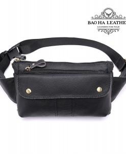 Túi đeo bụng da bò BHM8398