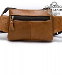 Phí sau túi với khóa kéo tiện dụng
