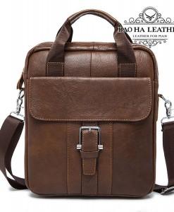 Túi đeo chéo vừa khổ giấy A4 - BHM8809 - Màu Nâu bò