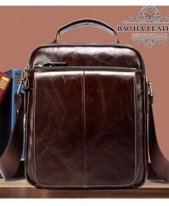 Túi da đeo vai nam - BHM379 Bao Ha Leather (2)