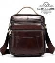 Túi da đeo chéo nam dáng hộp - BHM8318C Màu Cà Phê Mới (1)
