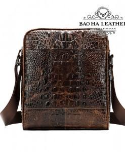 Túi đeo chéo nam vân cá sấu - BHM2228