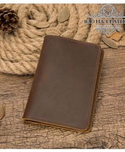 Ví đựng hộ chiếu da bò nguyên tấm - BHM8709