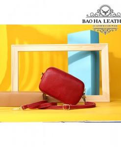 Clutch da cầm tay nữ Westal - BHW1233 màu Đỏ