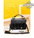 Túi đeo chéo nữ da bò cao cấp BHW288 màu Đen (9)