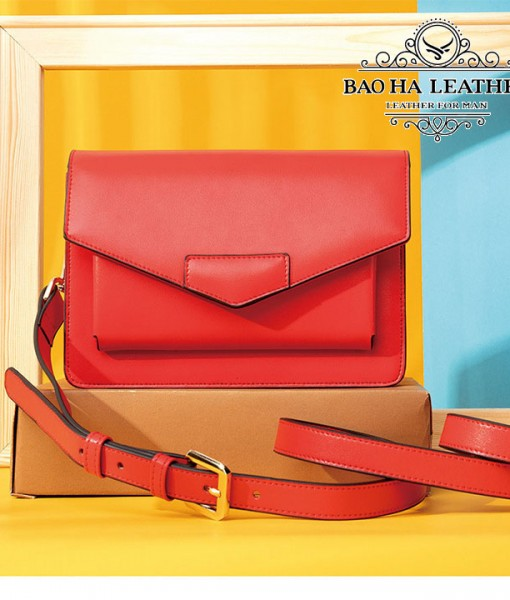 Túi đeo chéo nữ da bò phong cách WESTAL - BHW8600 (1)