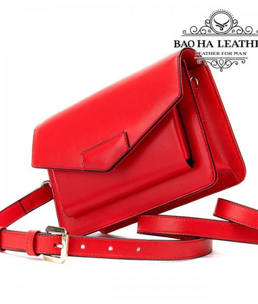 Túi đeo chéo nữ da bò phong cách WESTAL - BHW8600