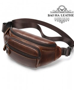 Túi da đeo trước bụng - BHM8591 (7)