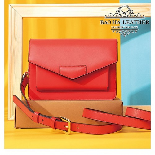 Túi đeo chéo nữ thời trang da thật - BHW8600