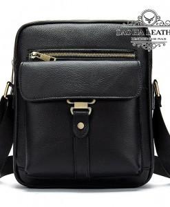 Túi đeo chéo nam giá rẻ BHM8516 Màu Đen