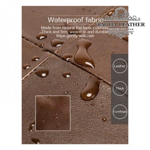 Bề mặt cặp được xử lý chống nước