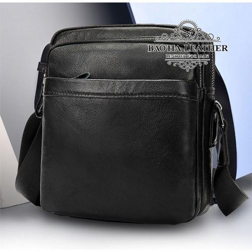 Túi đeo chéo nam mini da bò - BHM6027